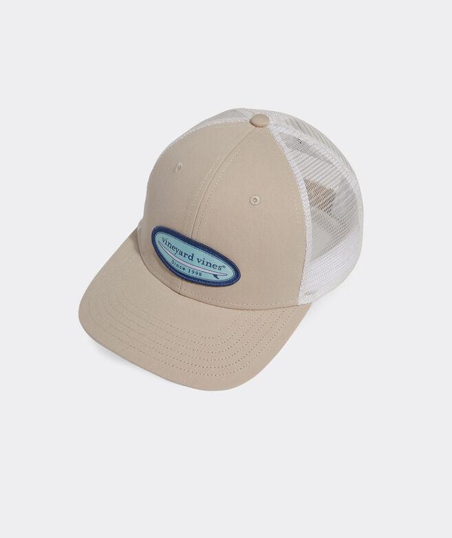 Canvas Surf Patch Trucker Hat