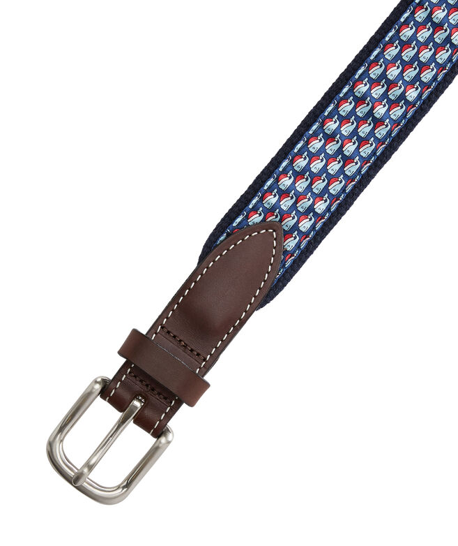 Boys Santa Whale Canvas Club Belt