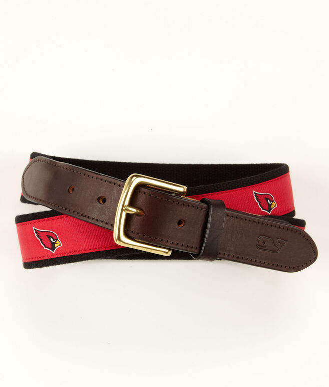 Arizona Cardinals Canvas Club Belt