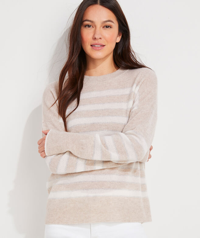 Seaspun Lightweight Cashmere Shine Stripe Sweater