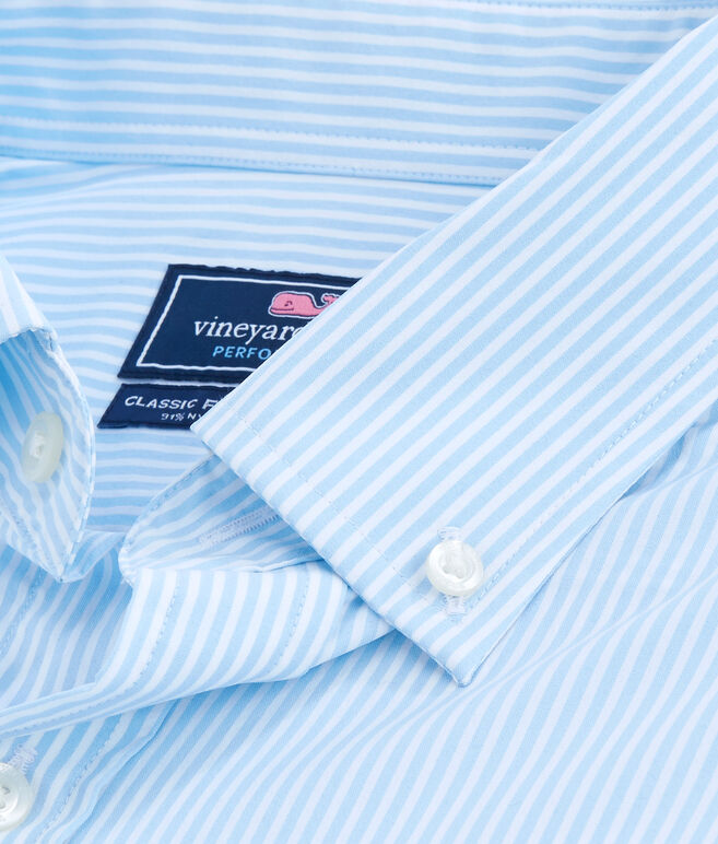 Belem Stripe Performance Classic Murray Shirt