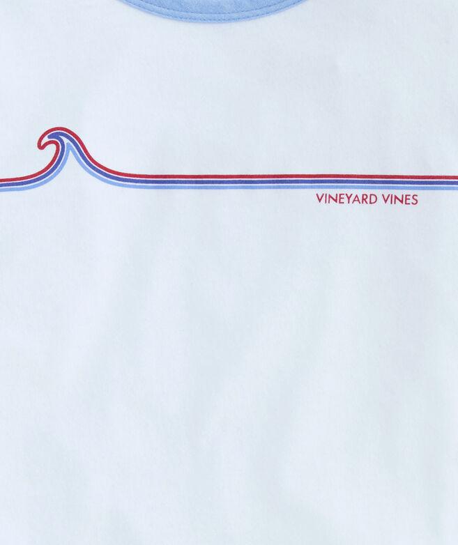 Girls Vineyard Wave Ringer Tee