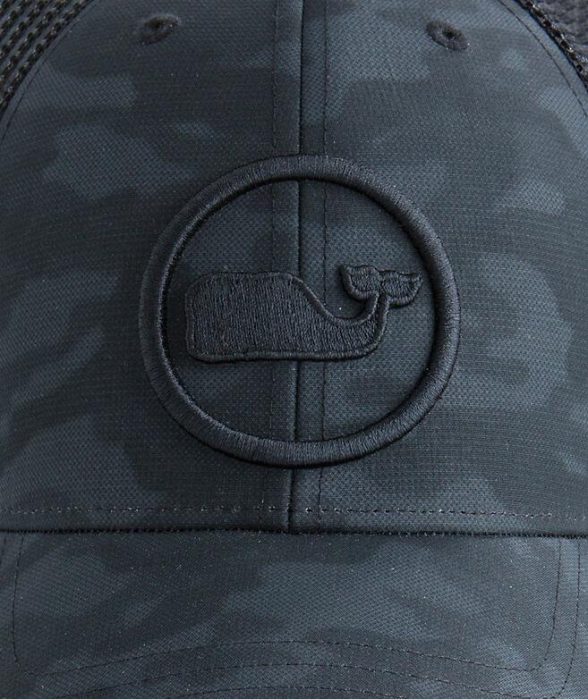Camo Whale Dot Trucker Hat