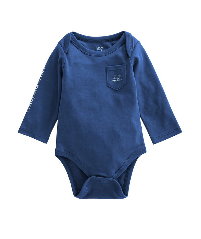 Long-Sleeve Vintage Whale One-Piece