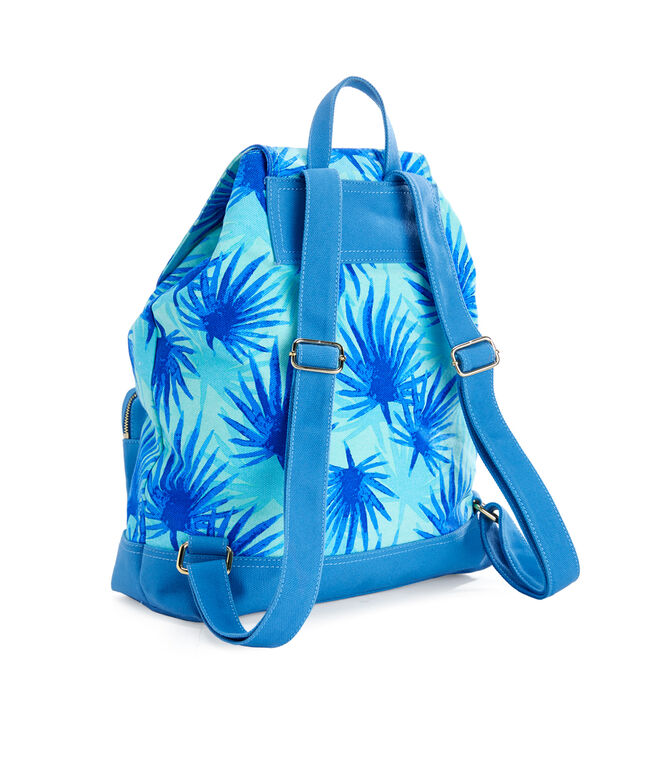 Electric Palm Printed Daypack