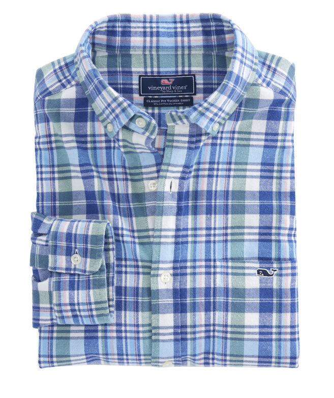 Fox Run Plaid Classic Tucker Shirt