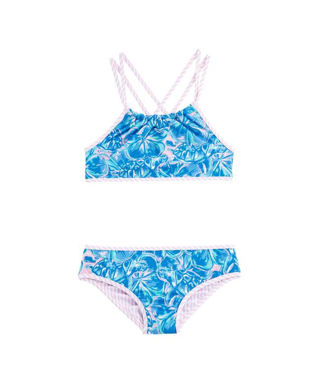 Girls Tropical Turtles Swim Bottom