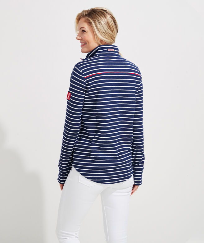 Americana Relaxed Stripe Shep Shirt