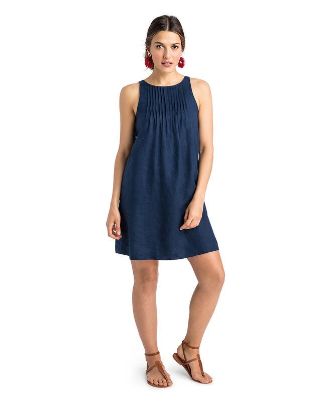 48ad29cd31 Shop Linen Pintuck Swing Dress at vineyard vines