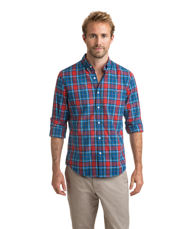 Walker Point Plaid Slim Tucker Shirt