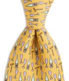 Vintage Wine Tie