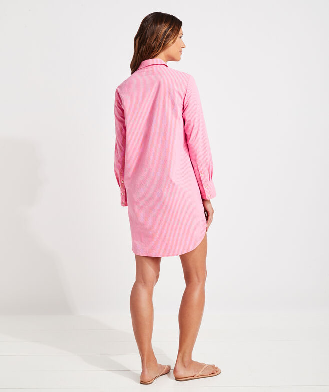 Harbor Shirt Button-Down Cover-Up