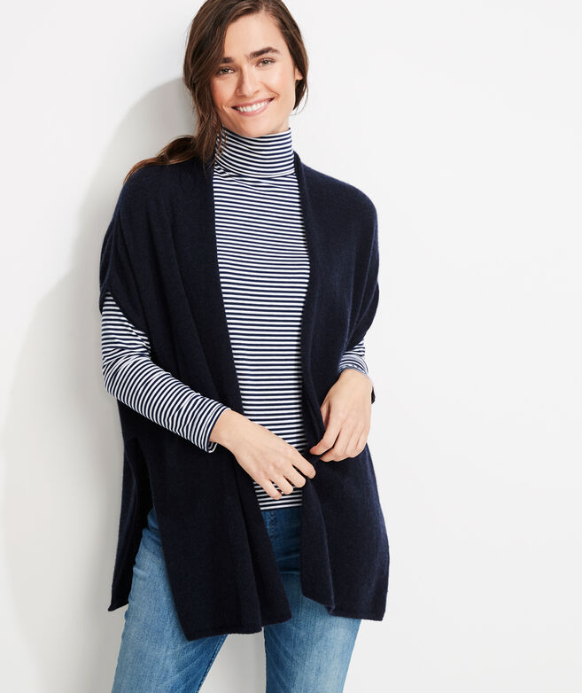 Lofty Cashmere Open Front Cardigan