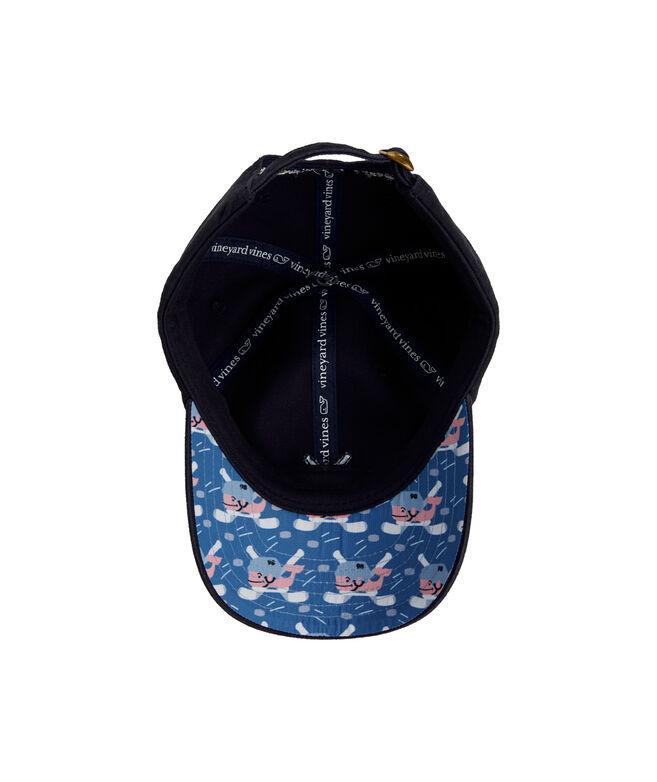 Boys Hockey Whale Baseball Hat