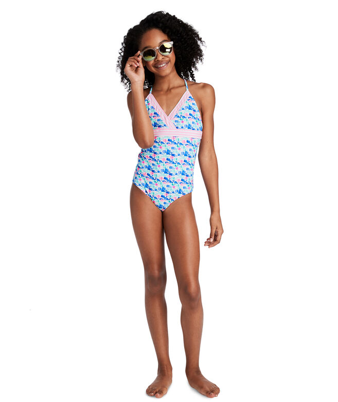 Girls Candy Whale One-Piece