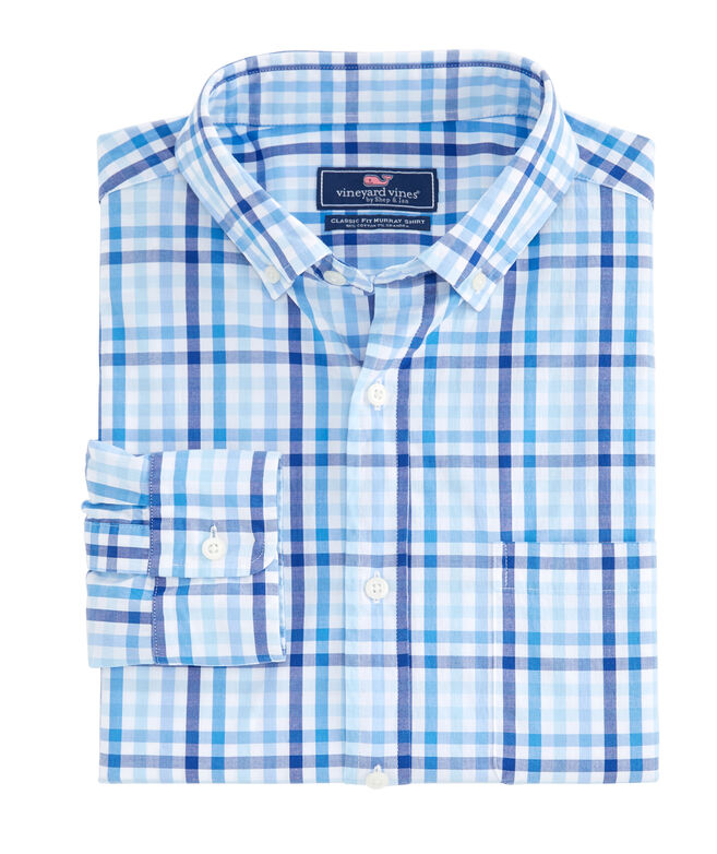 Classic Fit Atala Tattersall Murray Shirt