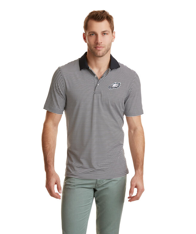 Philadelphia Eagles Porter Stripe Polo