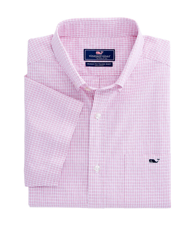 Classic Short Sleeve Tucker Shirt