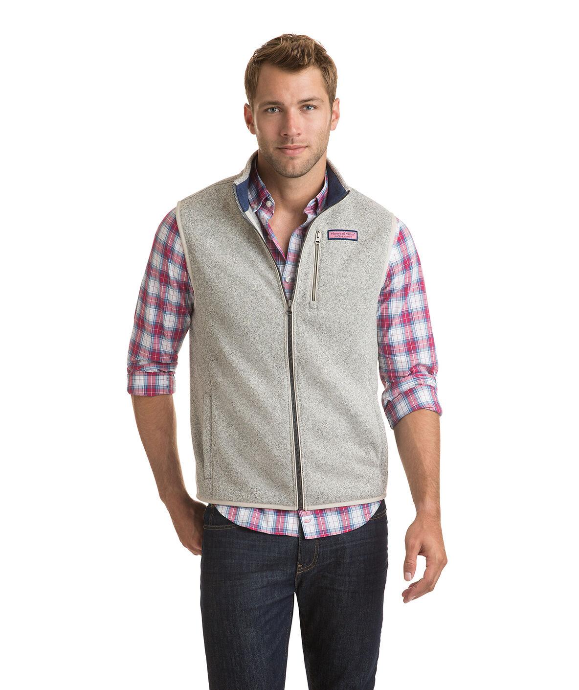 Shop Sweater Fleece Vest at vineyard vines