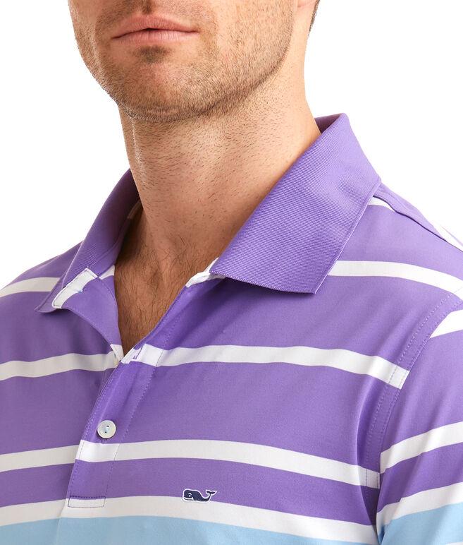O'Keefe Stripe Performance Polo