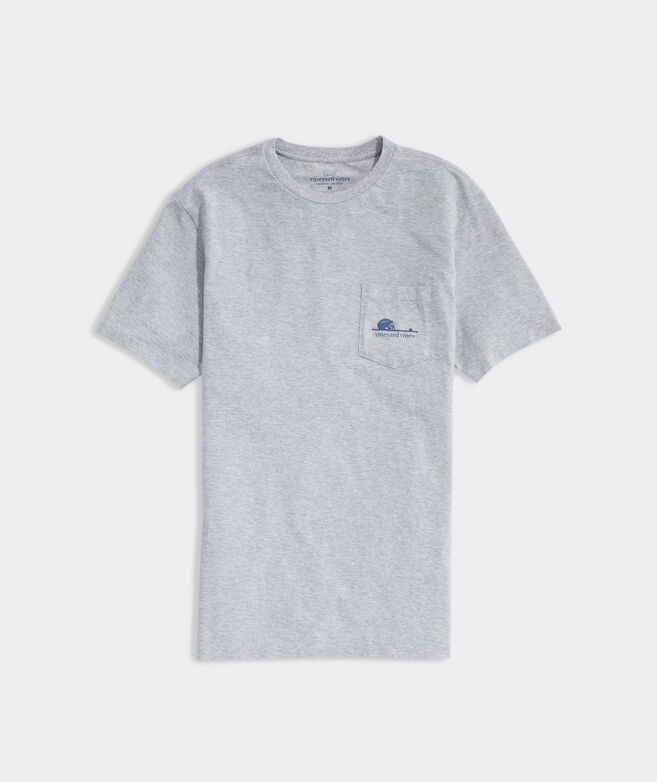 Lacrosse Net Line Short-Sleeve Pocket Tee