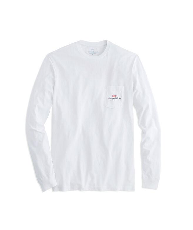Mens T-Shirts: Long-Sleeve vineyard vines Logo Graphic T-Shirt ...