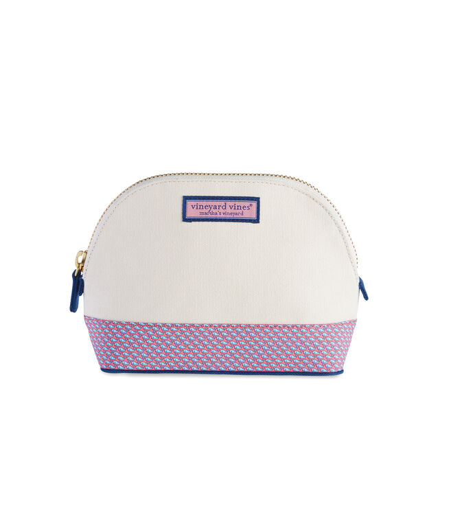 Heritage Whales Large Cosmetic Case