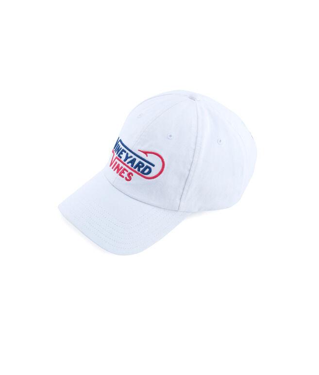 vv Fish Hook Embroidered Hat