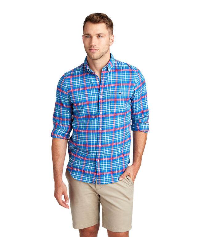 Mill River Flannel Slim Tucker Shirt