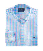 Orchid Check Performance Classic Tucker Shirt