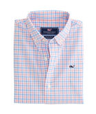 Winding Bay Gingham Whale Shirt
