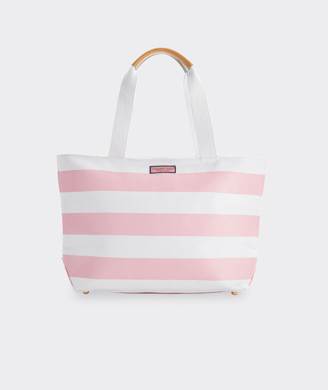 Cove Rugby Stripe Large Tote