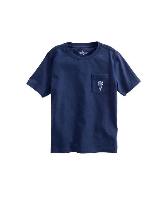 OUTLET Kids' Lax Scoop Short-Sleeve Pocket Tee