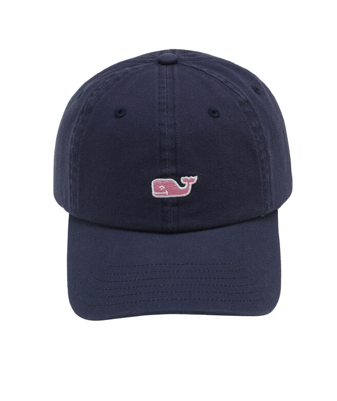 9cb45bf08150c Shop Signature Whale Logo Baseball Hat at vineyard vines