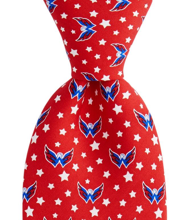 Washington Capitals Logo Tie