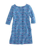 Girls Whale Tail Square Knit Dress