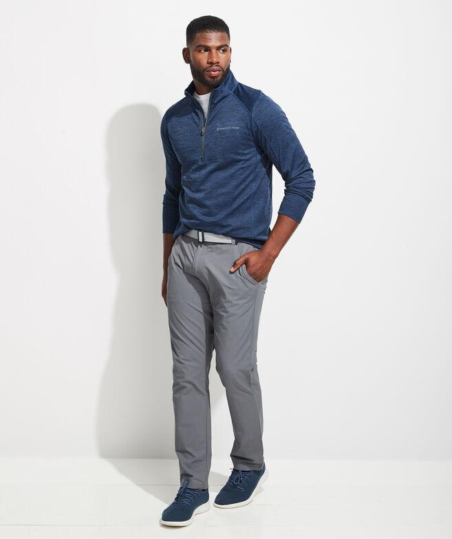 Striped Sankaty 1/2-Zip Pullover