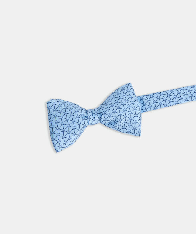Golf Balls & Tees Geo Printed Bow Tie