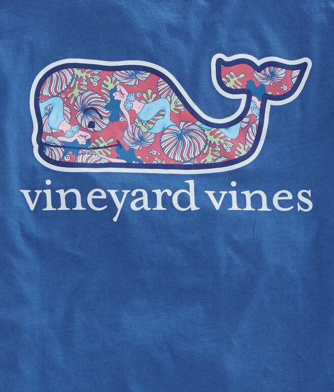 Mermaids Whale Fill Pocket T-Shirt