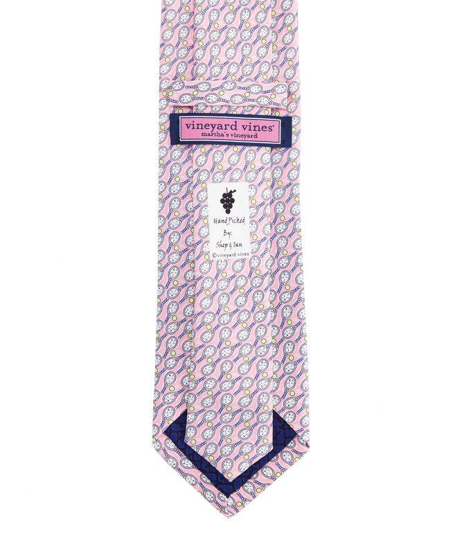 Tennis Racquets Printed Tie