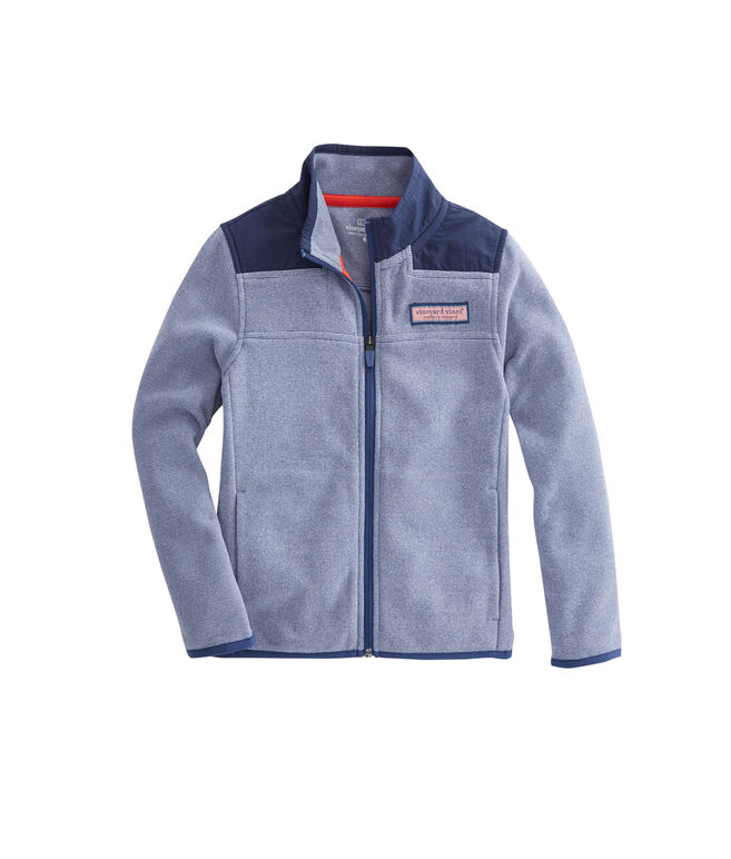 Boys End On End Fleece Shep Shirt