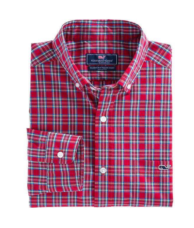 Riverton Plaid Classic Tucker Shirt