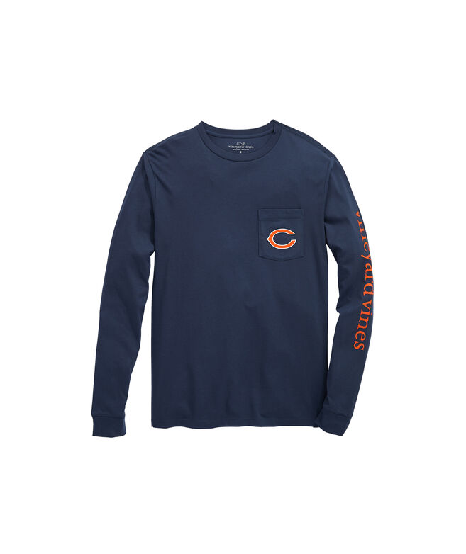 Chicago Bears Long-Sleeve EDSFTG T-Shirt