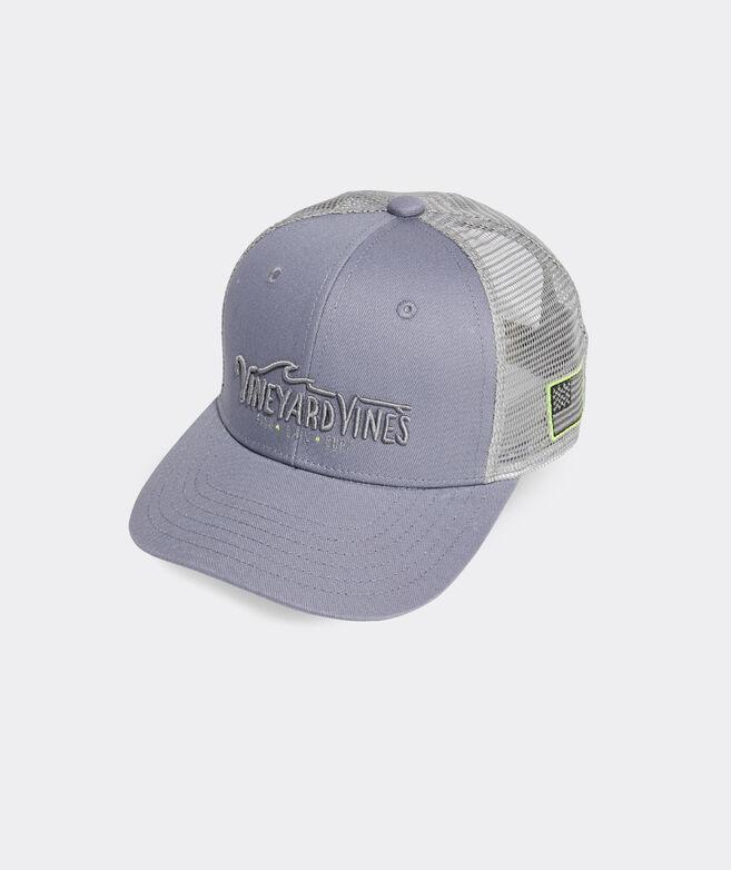 Boys' Fish. Sail. Surf. Trucker Hat