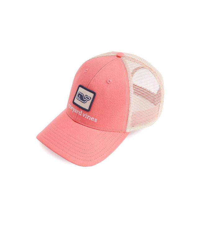 Whale Patch Trucker Hat