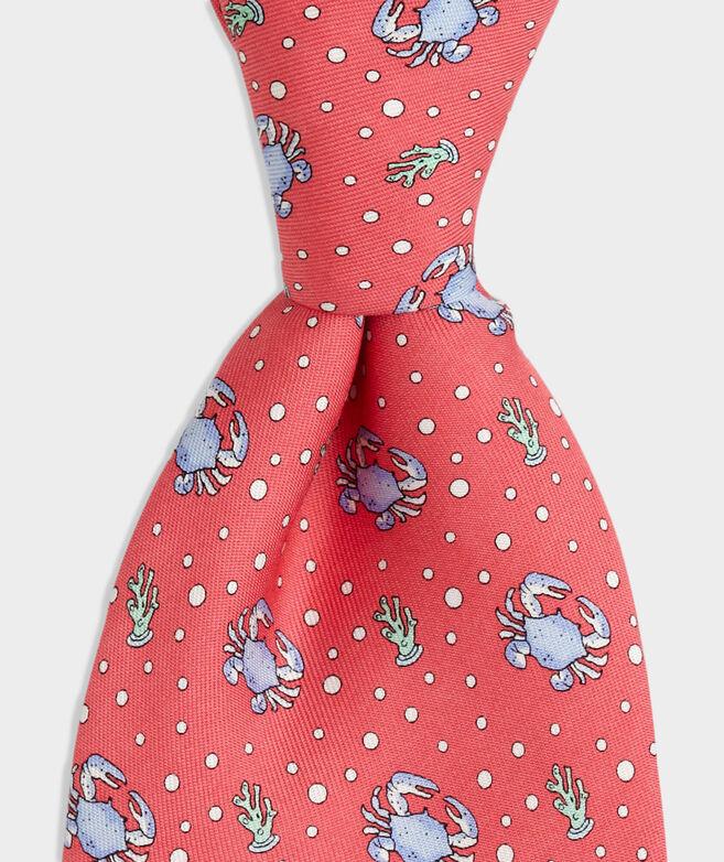 Boys Crab Printed Tie