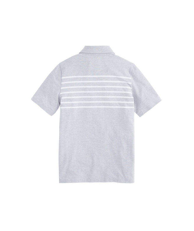 Boys Edgartown Placed Stripe Polo