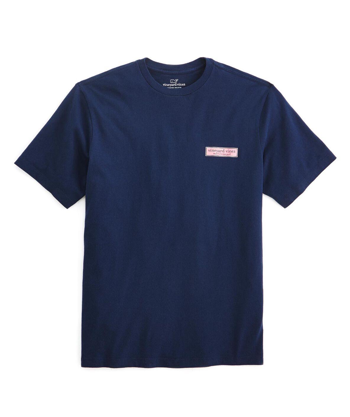 Men 39 S T Shirts Vv Rectangle Logo Graphic T Shirt