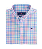 Boys Hamlets Port Plaid Whale Shirt