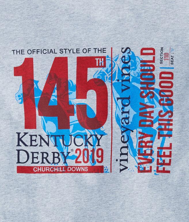 Long-Sleeve Kentucky Derby 145 Ticket Pocket T-Shirt